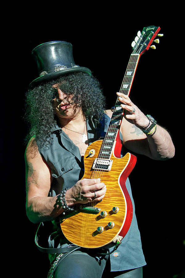 Slash Performs At Brixton Academy In Photograph by Neil Lupin