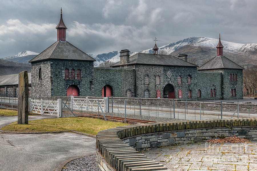 1972 Photograph - Slate Museum by Adrian Evans