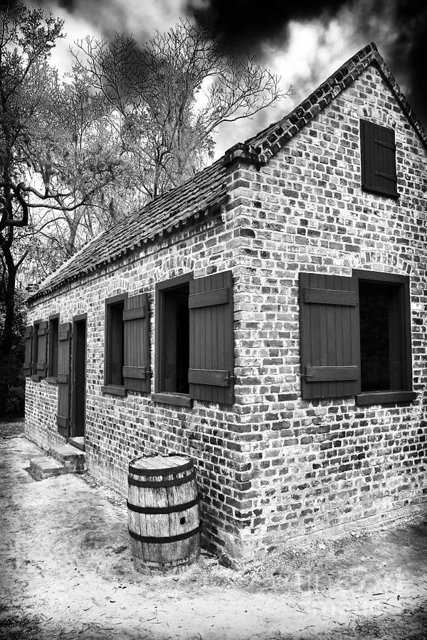 Slave Photograph - Slave House by John Rizzuto