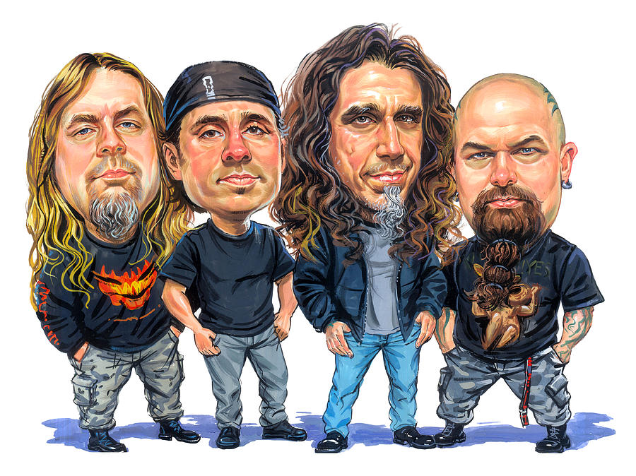 Slayer Painting - Slayer by Art