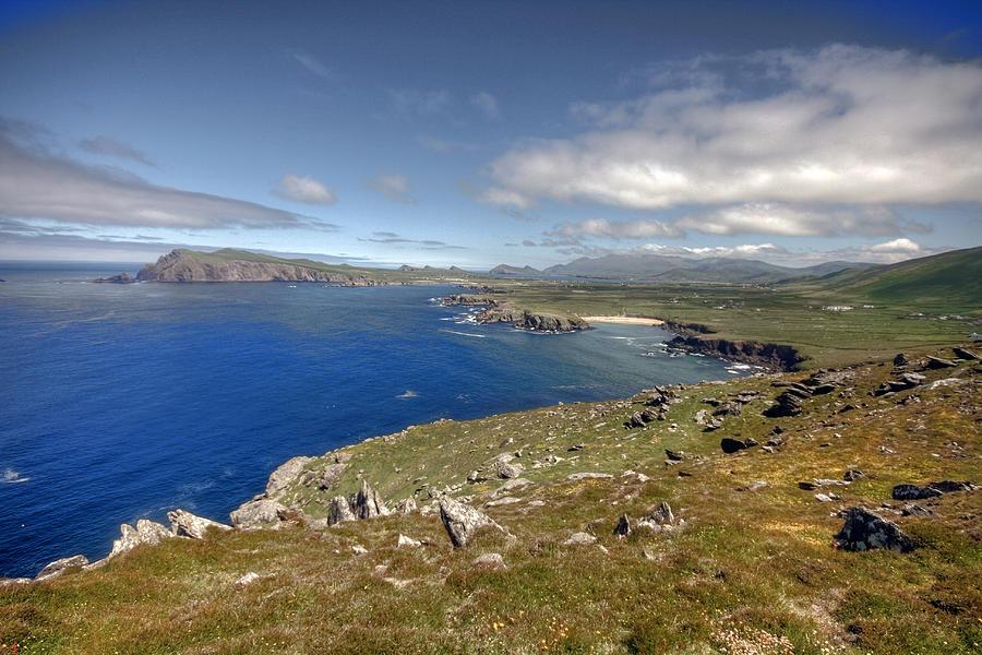 Blasket Islands Photograph - Slea Head Coastline by John Quinn