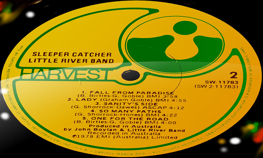 Sleeper Catcher Little River Band Side 2 By Marcello Cicchini