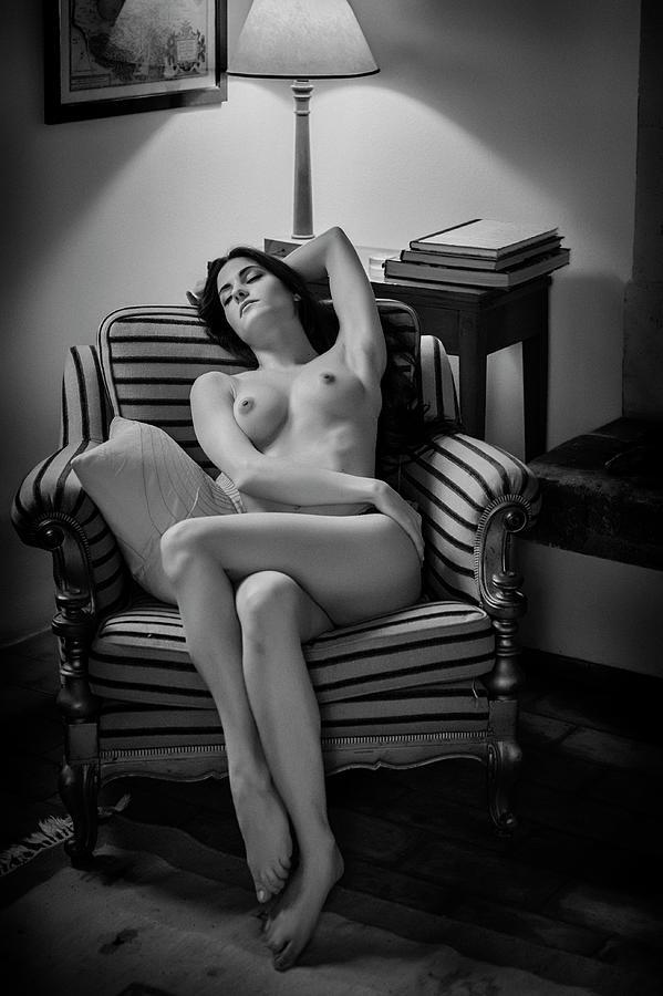 Fine Art Nude Photograph - Sleeping Beauty by Fabrizio Micheli