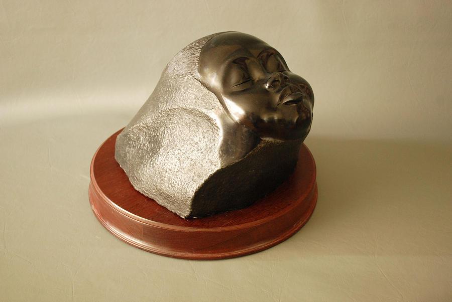Sculpture Sculpture - Sleeping Child by Leslie Dycke