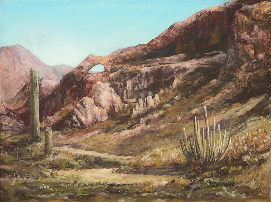 West Painting - Sleeping Giant by Paula Wild