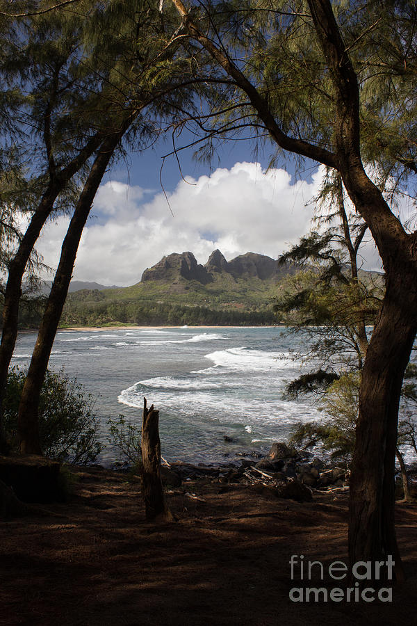 Kauai Photograph - Sleeping Giant by Suzanne Luft