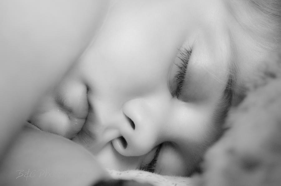 Sleeping Photograph - Sleeping Princess by BandC  Photography