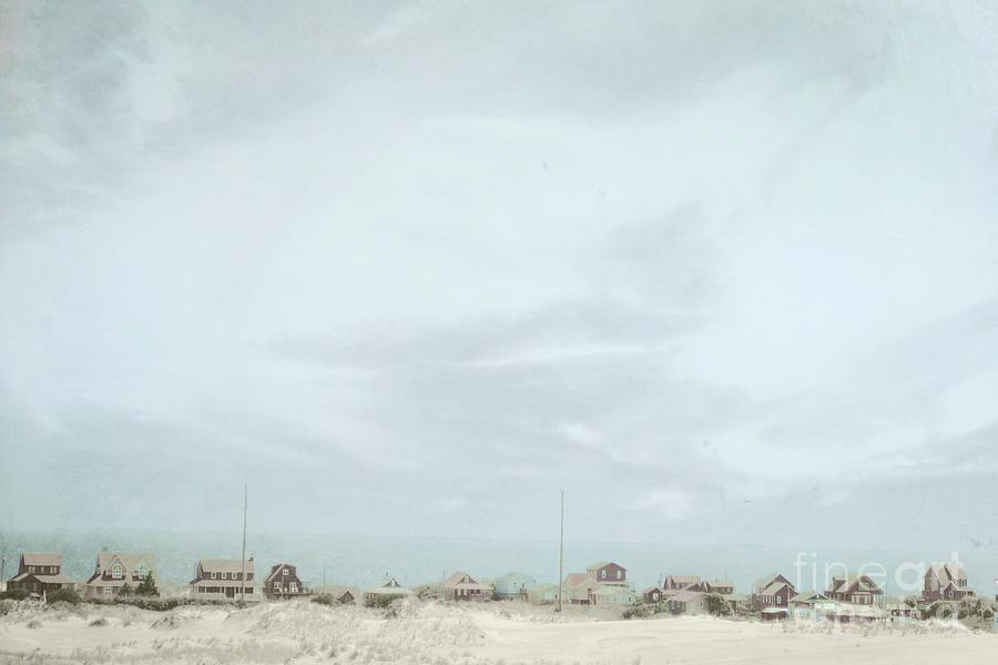 Nags Head Nc Photograph - Sleepy Beach Town by Sharon Coty