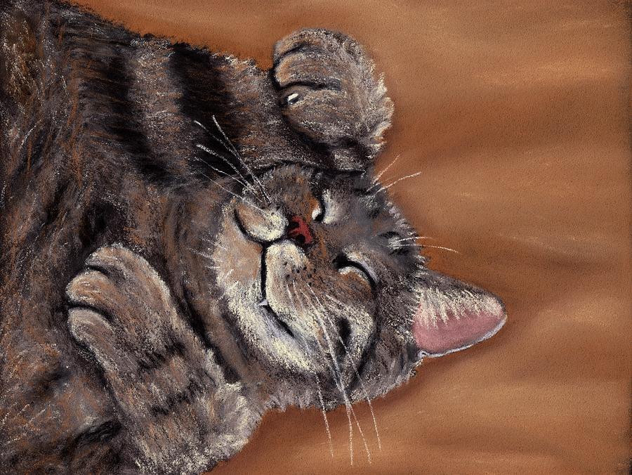 Sleepy Kitty by Anastasiya Malakhova