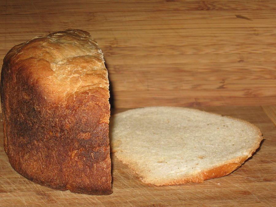 Bread Photograph - Slice Of Life by Rebecca  St George