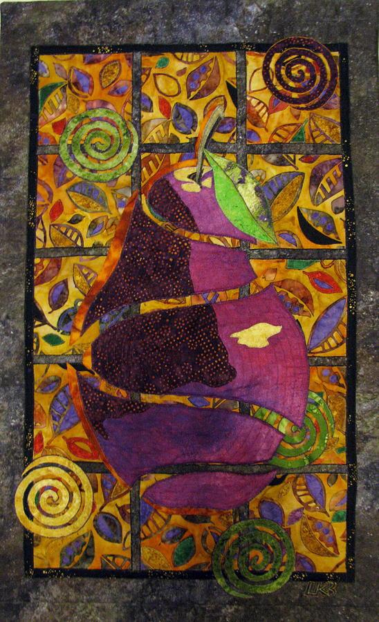 Food And Beverages Tapestry - Textile - Sliced Pear by Lynda K Boardman