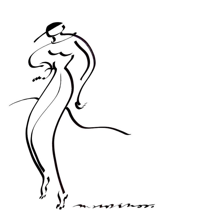 Hot Drawing - Slinky by Vince MacDermot