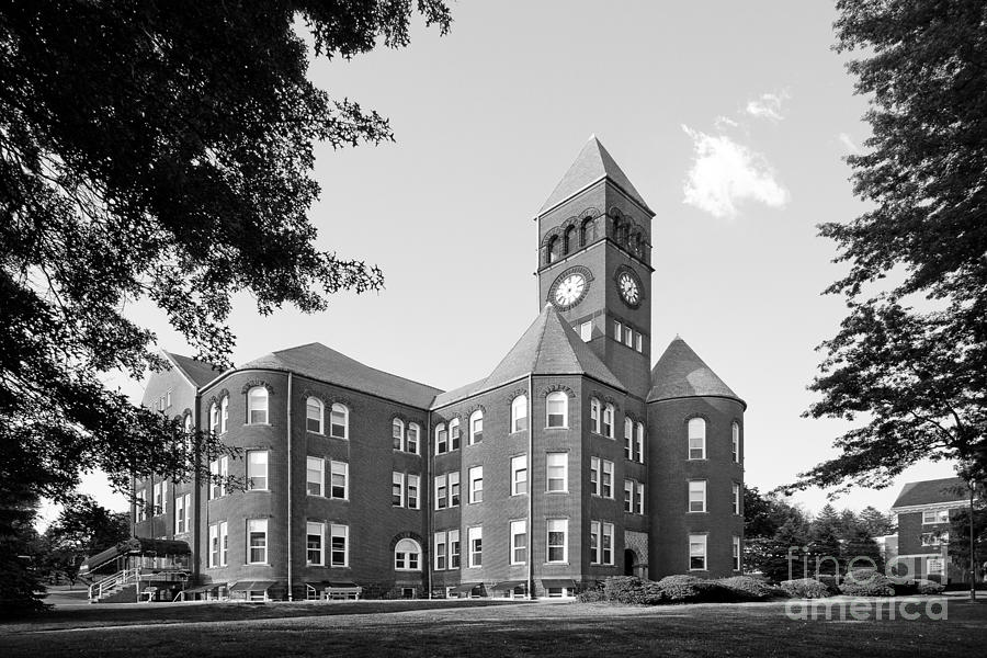 Old Main Photograph - Slippery Rock University Old Main by University Icons