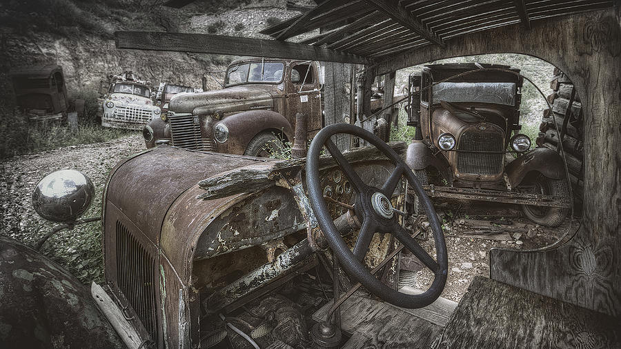 Model A Photograph - Slipping Away by Sean Foster