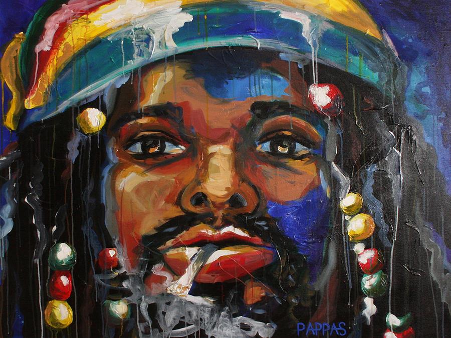 Art Painting - Slo Jammin by Julia Pappas