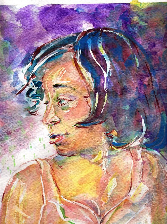 Sloane Painting - Sloane by Ramona Wright