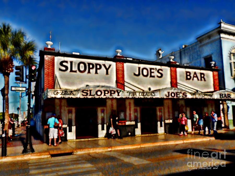 Sloppy Joe's Bar Photograph - Sloppy Joes Bar by Joan  Minchak