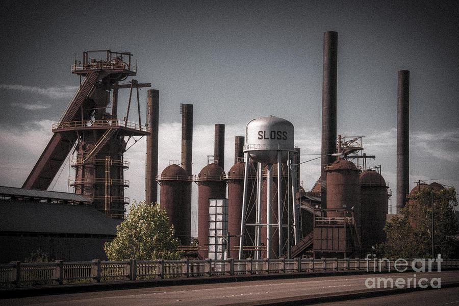 Ken Photograph - Sloss Furnaces by Ken Johnson