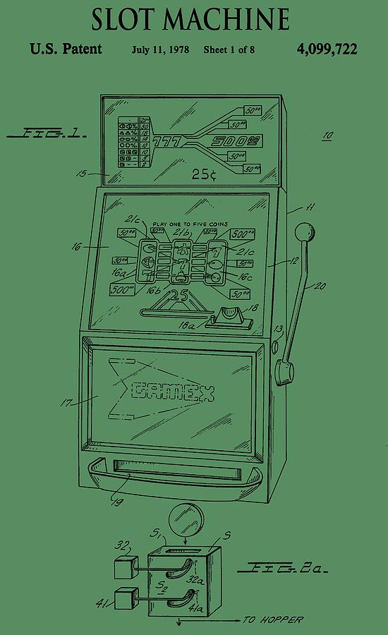 green slot machine