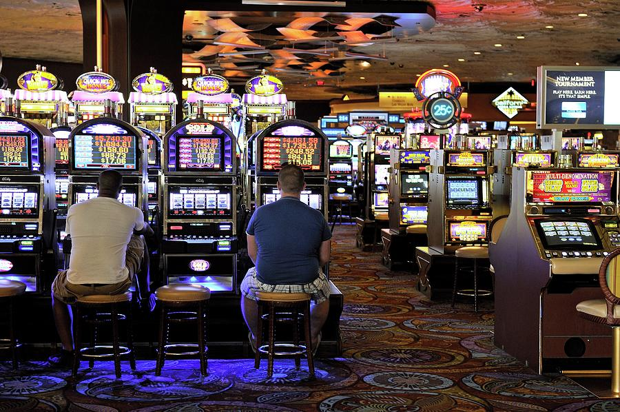 Addict Photograph - Slot Machines by Bildagentur-online/mcphoto-schulz