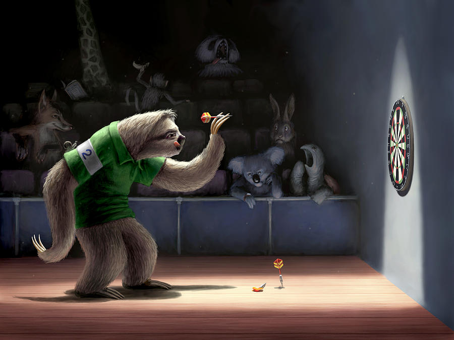 Sloth Darts by Ben Hartnett
