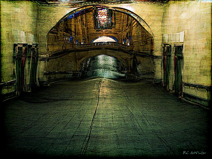 Archway Painting - Slouching Towards Bethlehem by RC deWinter
