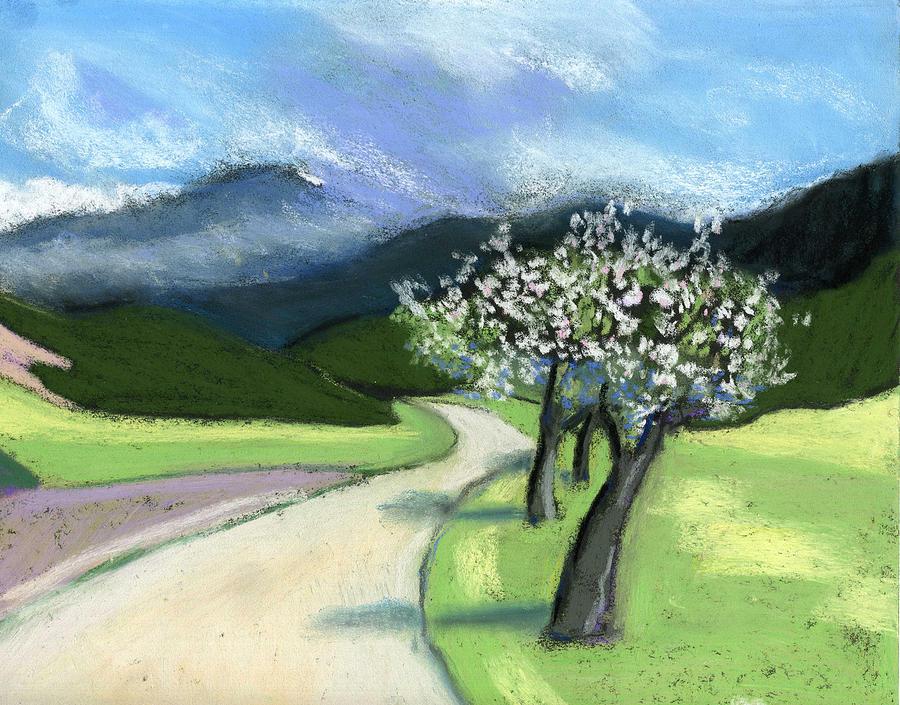 Nature Pastel - Slovenia. Kamnik. by Lelia Sorokina