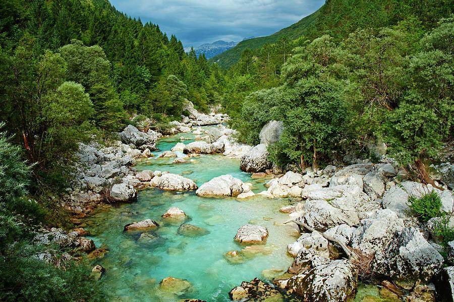 Slovenia, Triglav National Park, Soca Photograph by Tuul & Bruno Morandi