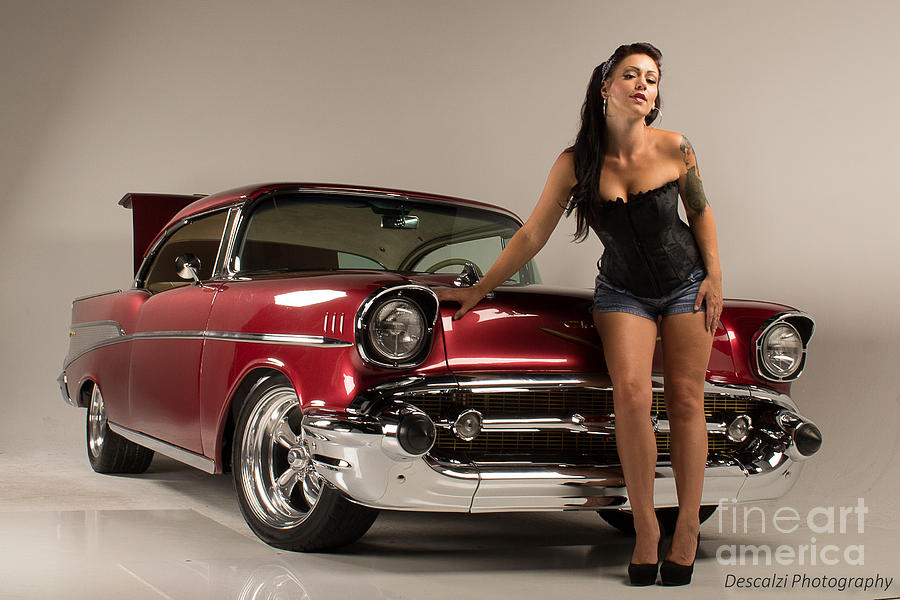 Model Photograph - Slow Ride by Patty Descalzi