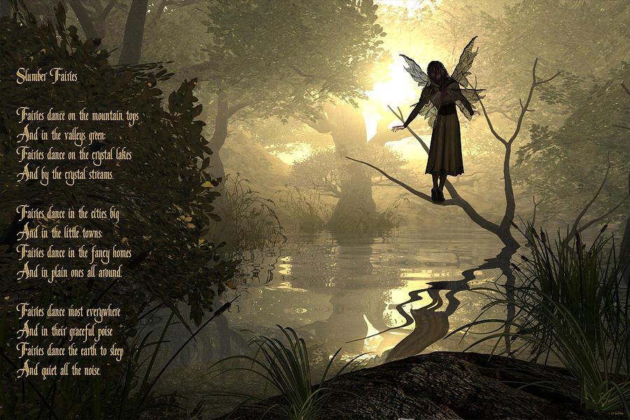 Fairy Poem Photograph - Slumber Fairies by Randi Kuhne