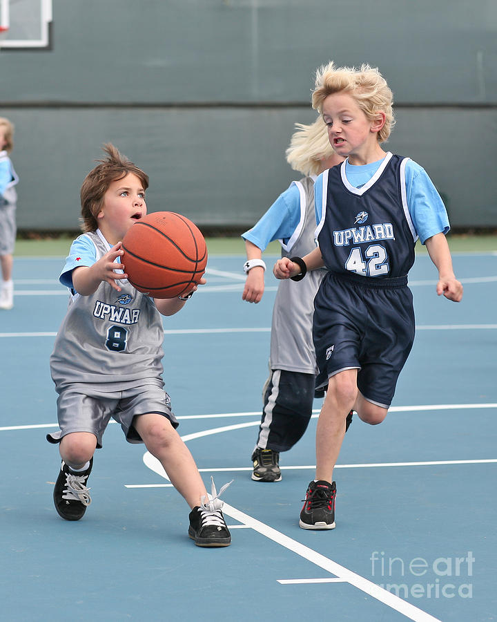 Basketball Photograph - Small Ball by Jim Carrell