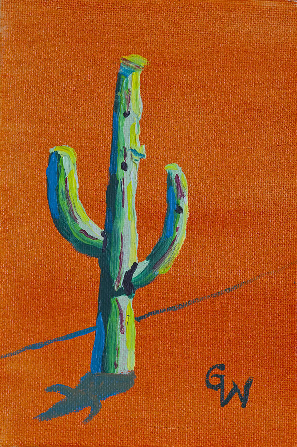 Small Cactus by Greg Wells