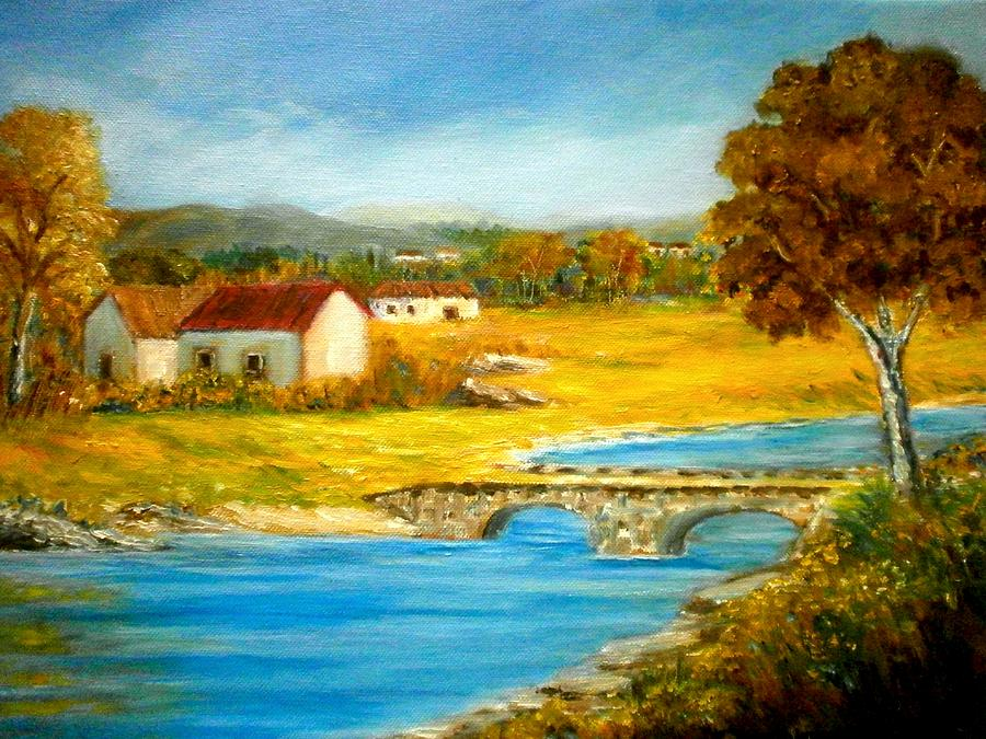 Small Cottage Painting