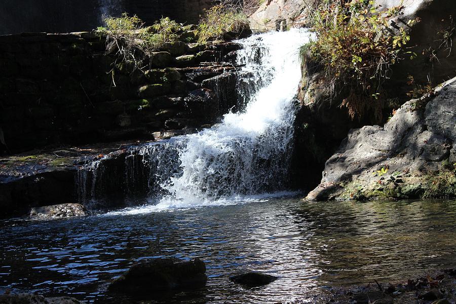 Water Photograph - Small Falls by Edward Hamilton