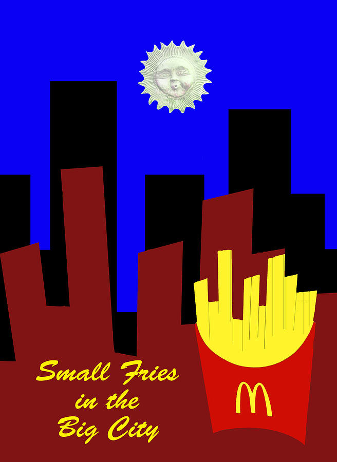Small Fries In The Big City Photograph
