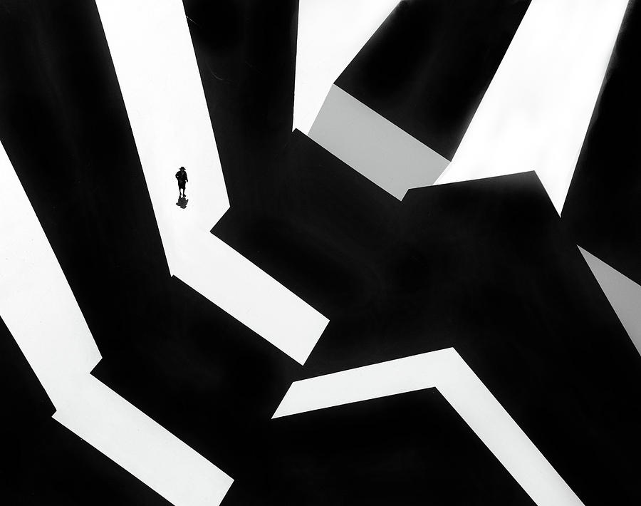 Creative Edit Photograph - Small In A Big World.....! by Huib Limberg