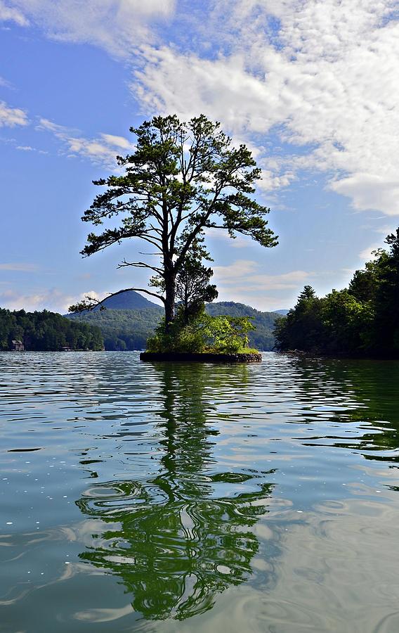 Island Photograph - Small Island by Susan Leggett