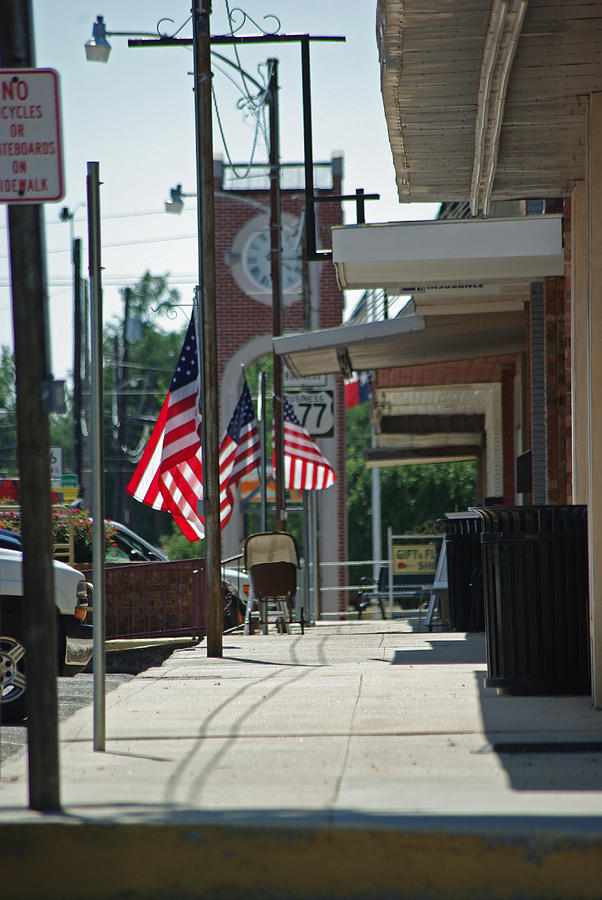Usa Photograph - Small Town America by Robyn Stacey