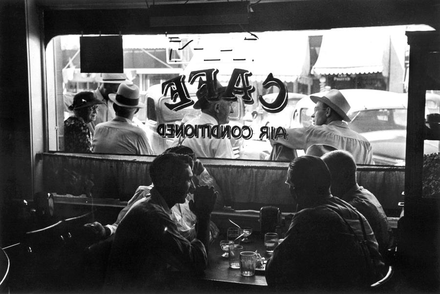 1941 Photograph - Small Town Cafe, 1941 by Granger