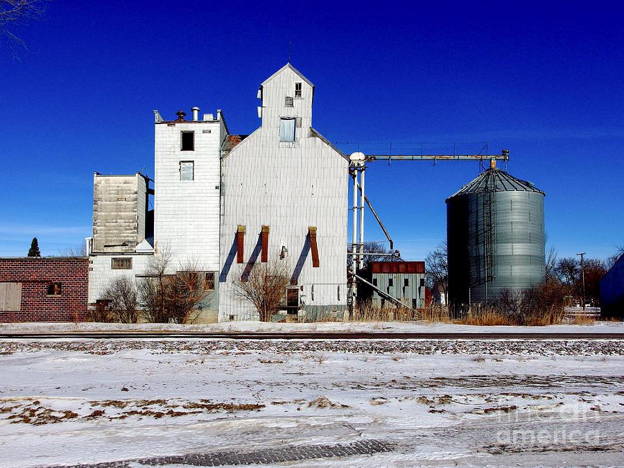 Small Town Grain Elevator by Rural America Scenics