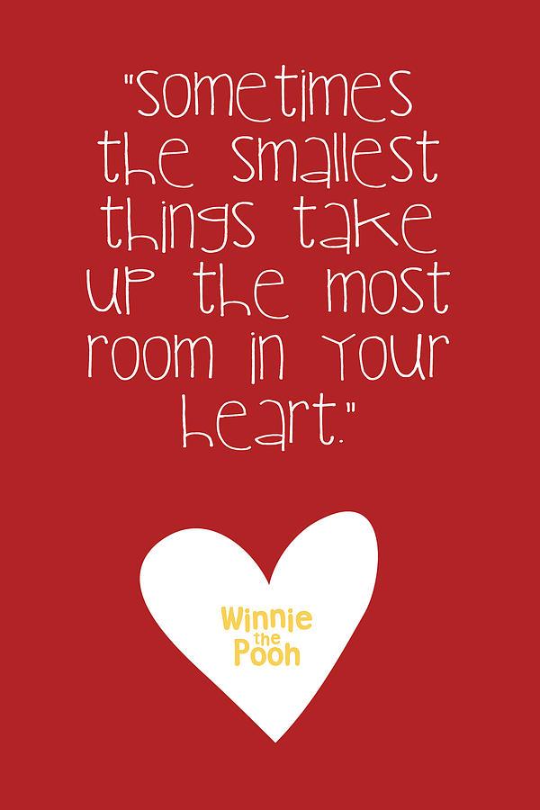 Winnie The Pooh Digital Art - Smallest Things by Nancy Ingersoll