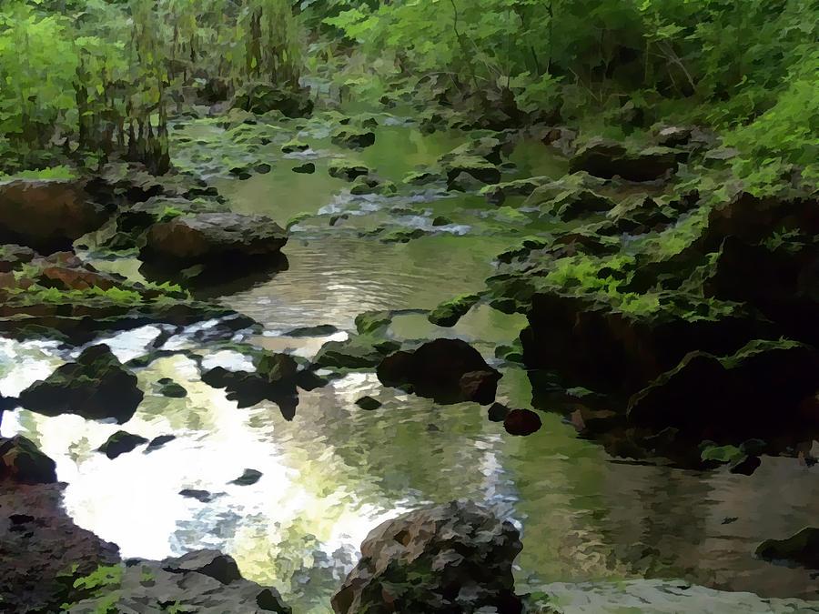 Creek Photograph - Smallin Creek by Julie Grace