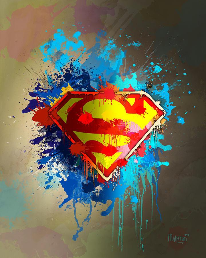 Strength Digital Art - Smallville by Anthony Mwangi