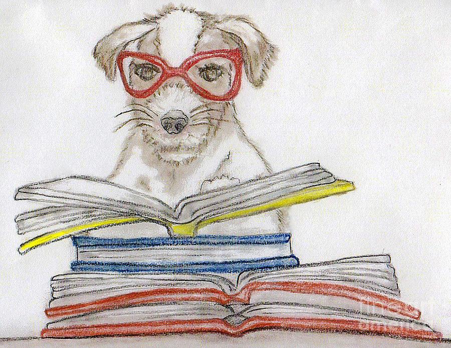 Puppy Pastel - Doggy Love by Rose Davis