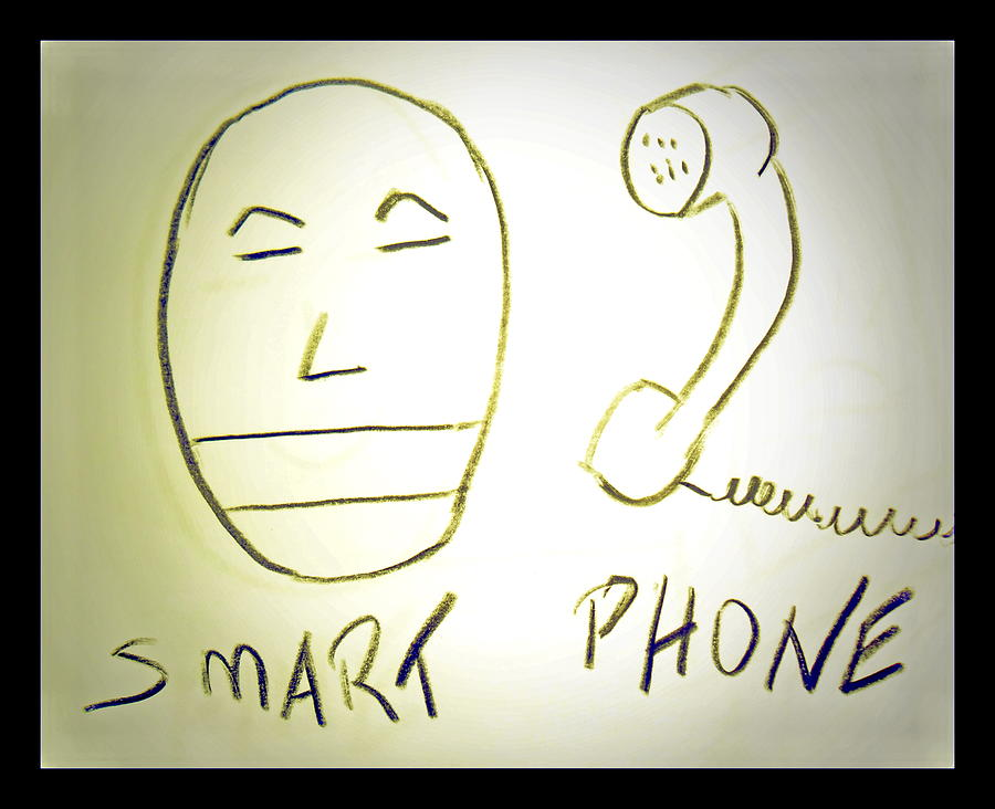 Drawing Drawing - Smartphone by Beto Machado