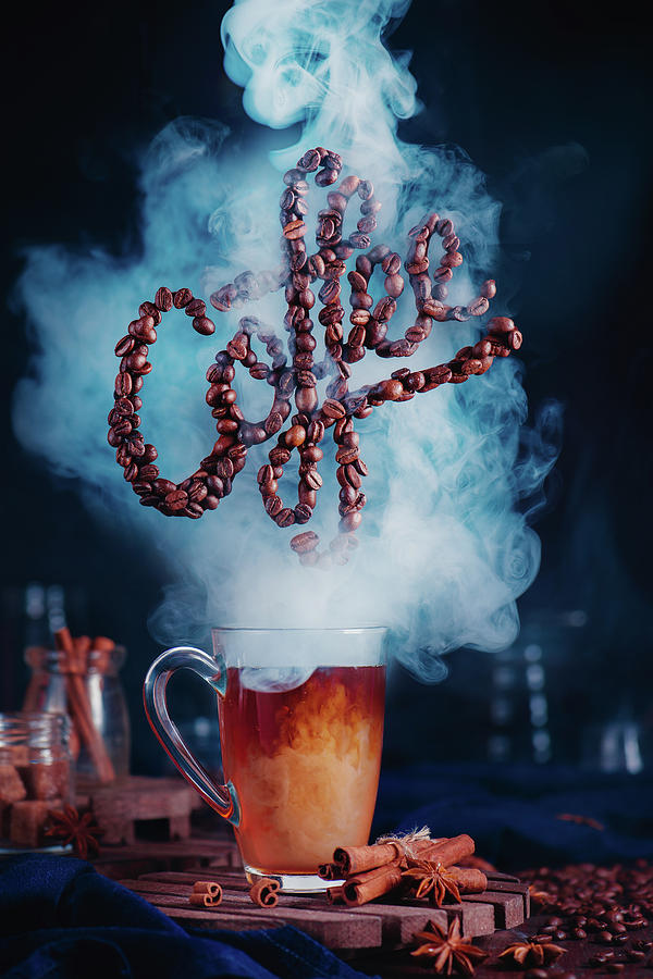 Smell The Coffee Photograph by Dina Belenko