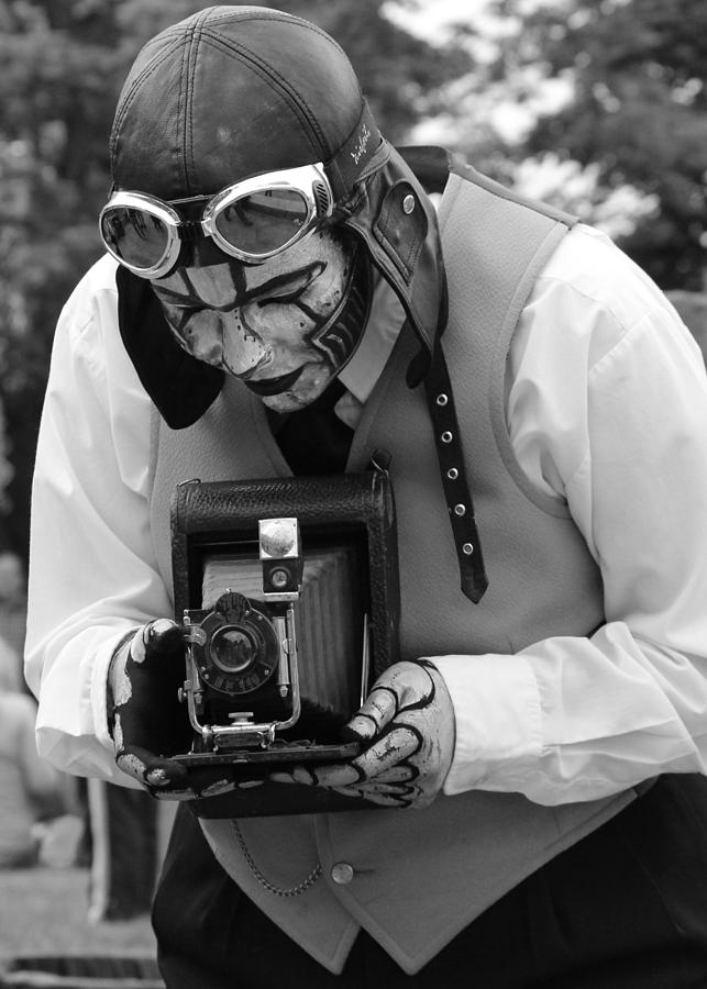People Photograph - Smile For The Camera by Kym Backland