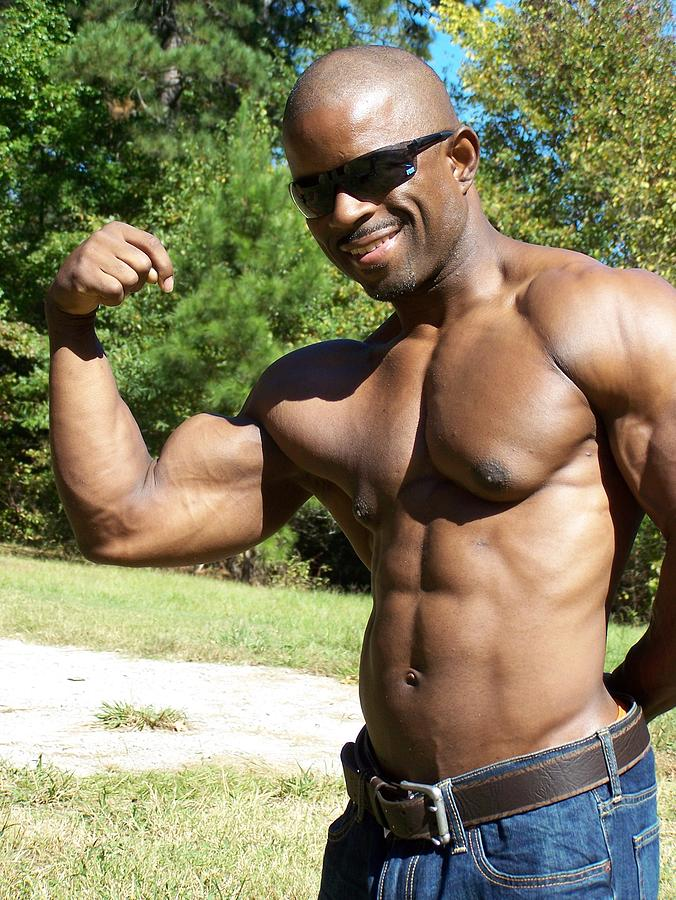 Rate My Pecs Photograph - Smiley by Jake Hartz