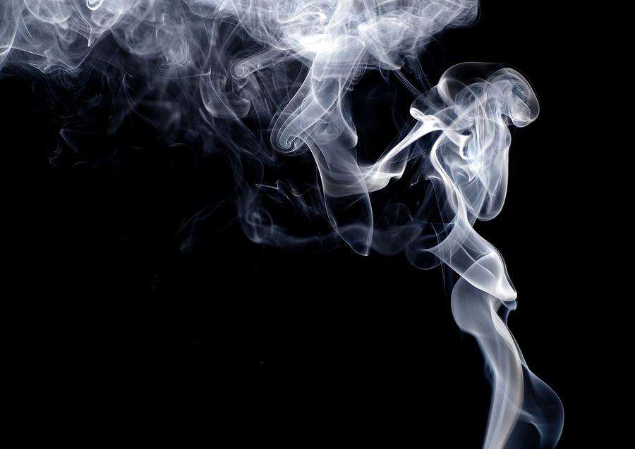 Smoke Against Black Background Photograph by Alexander Rieber / Eyeem