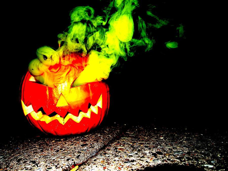 Smoke Bomb Pumpkin Yellow